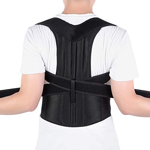 Körperhaltung Korrektor Rücken, Haltungskorrektur Geradehalter Schulter Haltungsbandage für Männer und Frauen, Verbesserung der Haltung, Verhindern Slouching, Schmerzlinderung(Voll zurück)