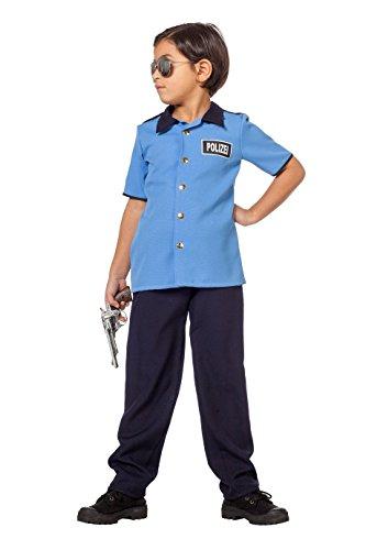 Wilbers 3419 Deutsche Polizei Kostüm Kinder Kinderkostüm Polizist -