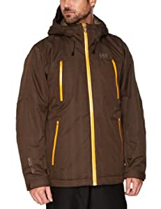 Helly Hansen Men's Mission Ski Jacket - Espresso, XX-Large