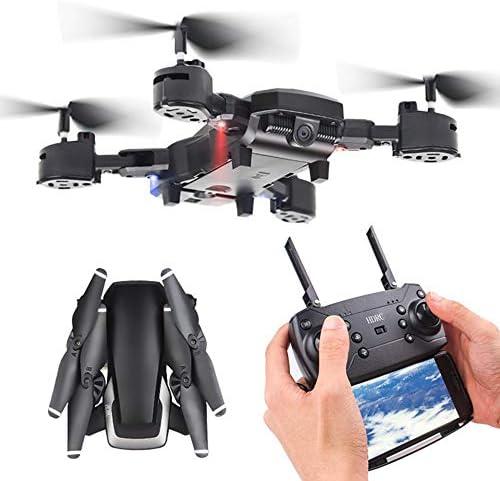 ZMM Drone avec caméra HD 1080p gyro Flottant FPV RC 5MP Pliage hélicoptère RC avec cale d'altitude et Un Bouton décollage/atterrissage, Bon pour Les débutants | Terrific Value
