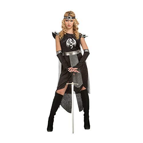 My Other Me Damen Kostüm Kriegerin Dragons (viving Costumes) (Kriegerin Kostüm)
