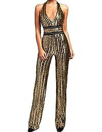 Veröffentlichungsdatum: Modestil von 2019 attraktive Mode Suchergebnis auf Amazon.de für: jumpsuit pailletten: Bekleidung