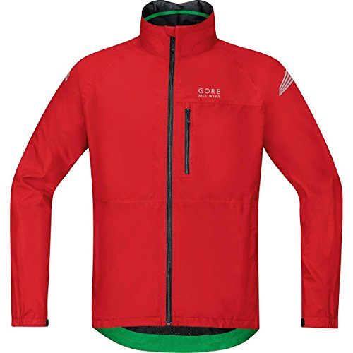 GORE BIKE WEAR ELEMENT GORE TEX   CHAQUETA PARA HOMBRE  COLOR ROJO  TALLA L
