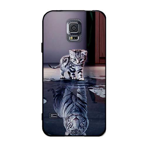 Near-out_Start Galaxy S5 Hülle, [Ball-up 04 ] Ultra Dünn Schlank Silikon Bumper Enthusiasm TPU Schutzhülle Kratzfest Lawsuit Put on caprice outfit Weiche Stoßfest Rutschfest Slim Gummi Handyhülle für Samsung Galaxy S5 i9600