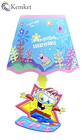 Kemket Sponge Bob Sound Sensor wall Light Shade ( Clap to switch Light on and Auto Switch off in few seconds)