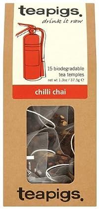 Teapigs Chilli Chai Tea 15 Temples