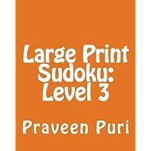 Sudoku Level 3: Fun, Large Grid Sudoku Puzzles