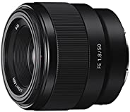 Sony SEL50F18F E Mount Full Frame 50 mm F1.8 Prime Lens (Black)