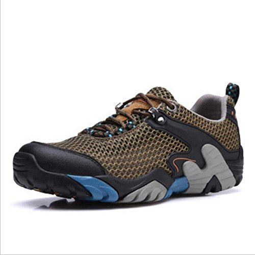 Z&HX sportsCalzature sportive estive scarpe casual scarpe da uomo calzature scarpe da escursione esterna Khaki