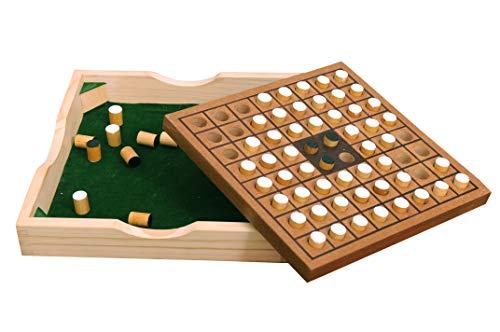 Pytho Wooden Othello / Reversi Board Game | Children Chess | Size: 10 X 10 Inches