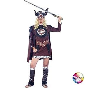 Aptafêtes cu050109/38-40-Disfraz para Mujer de Viking Talla 38/40