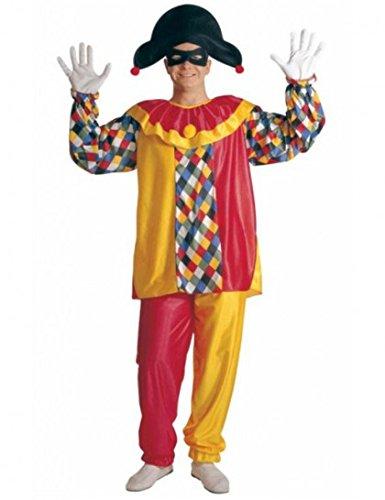 Widmann 39712 - Harlekin-Kostüm für Herren, Größe M (Harlekin Kostüme Ideen)