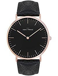 Damenuhren schwarz gold leder  Suchergebnis auf Amazon.de für: damenuhren lederarmband braun: Uhren