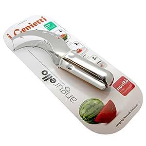 Angurello Taglia Affetta e Servi Anguria Fetta Melone Cantalupo in Acciaio Inox - Originale