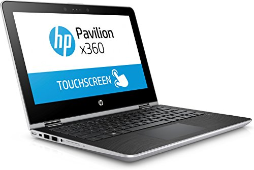 HP Pavilion X360 11-AD031TU Laptop (Windows 10, 4GB RAM, 1000GB HDD) Natural Silver Price in India