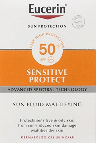 Eucerin Sun Fluid Mattifying SPF 50+, 50 ml