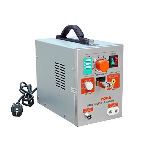 DCHOUSE 2 in1 1.9KW 60A 709A Spot Welder Battery Welding Machine Soldering Station -