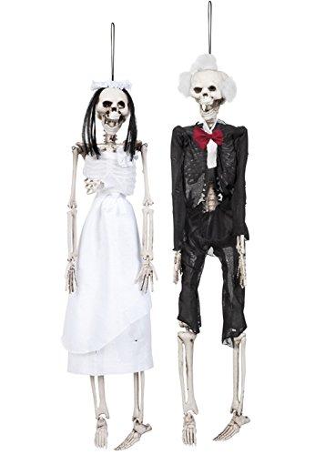 Halloween Party Zombie Braut und Bräutigam Dekorationen