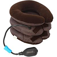 NK-STORE's Neck Braces Supports air Bag Neck Tractor Pillow for Cervical Pain Relief Tool Three Layer Tractor Pillow