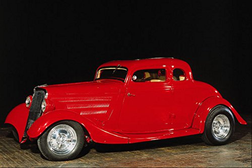 779006 1934 Ford 2 door Coupe Hot Rod ZZ Top Replica A4 Photo Poster Print 10x8