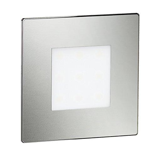 ledscom.de LED lámpara de Escalera FEX lámpara empotrable en la Pared, Angular,...