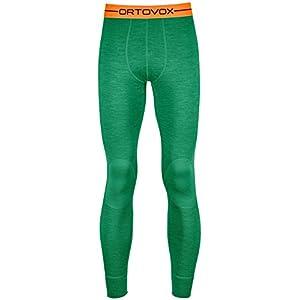 Ortovox Merino 185Rock 'n 'Wool Long Pants M Thermo Hose, Herren