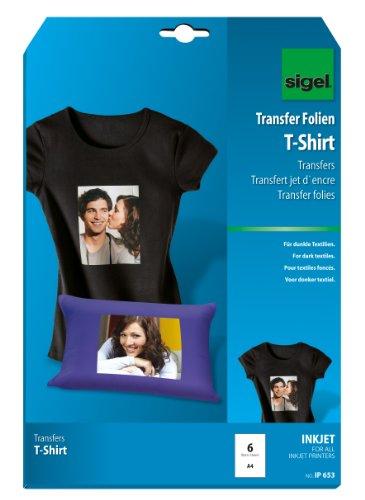 SIGEL IP653 Transferencia inyección tinta camisetas