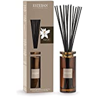 ESTEBAN jarrón difusor perfume casa NEROLI 75ml a palillos con jarrón vidrio