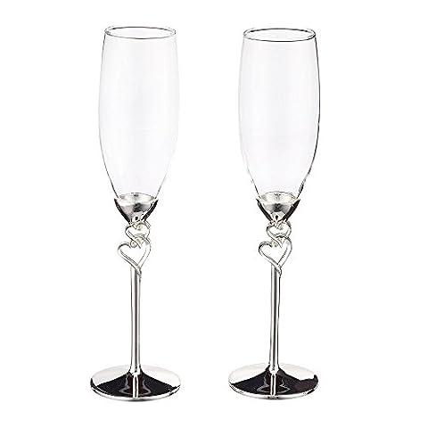 1 Set (2-teilig) Kreative hochwertige Weingläser/ Gläser mit Fuß/romatische Sektgläser
