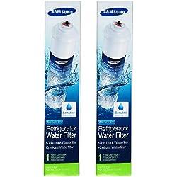 Samsung - DA29-10105J - Paquet de 2 Filtres à Eau Externe pour Réfrigérateur