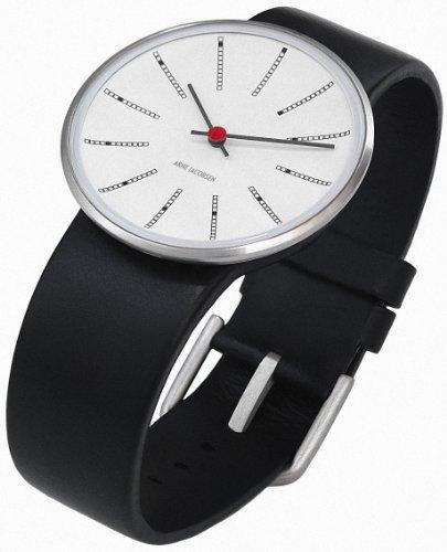 Rosendahl - 43440 - Montre Mixte - Quartz Analogique - Bracelet Cuir Noir