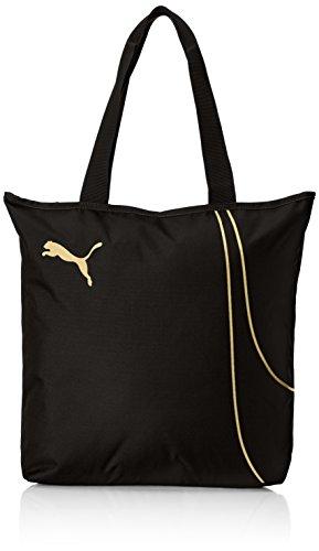 PUMA Damen Fundamentals Shopper Tasche, Puma Black, 36 x 41 x 1 cm