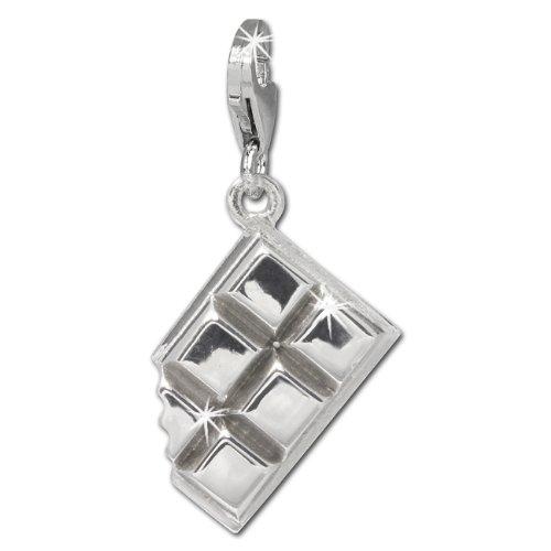 SilberDream Charm Schmuck 925 Echt Silber Armband Anhänger Schokolade FC723I - Armband Schokolade