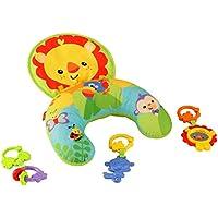 Fisher-Price Y6593 Spielkissen, mit abnehmbaren Beißringen und Spielzeug, Babyerstausstattung, ab 0 Monaten preisvergleich bei kleinkindspielzeugpreise.eu