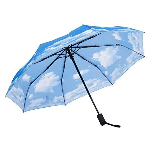 SY paraguas Paraguas prueba viento ligero viajes auto