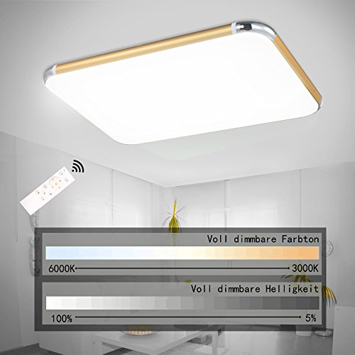 sparksor-36w-led-ceiling-lights-remote-control3000k-4500k-dimmable-flush-mount-ceiling-lightsacrylic