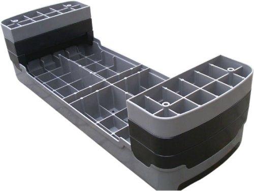ScSPORTS Aerobic Steppbrett 90 cm mit Bodenmatte
