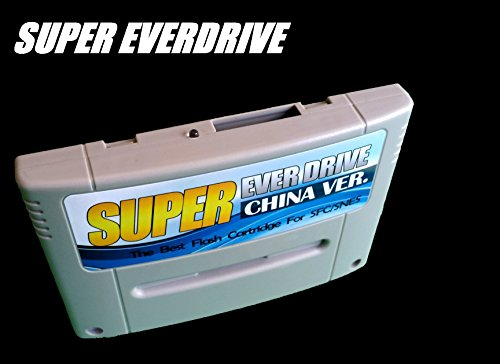 Super Nintendo SNES/SFC Super Everdrive Flash Cart With 8GB SD Card Nintendo Super NES Famicom