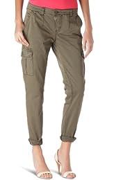 Timezone Damen Hose Normaler Bund, 16-0049 Rike cargo pants