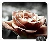(Präzision gesäumt) Mauspad Gaming Mouse Pad Rose Mouse Pad, Mousepad (Rose Mouse Pad)