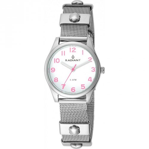 Radiant Uhr-Silber-Stahl RA386202 Mädchen Kommunion
