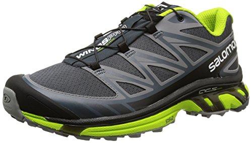 SalomonWings Pro - Zapatillas de Running para Asfalto Hombre , color Gris, talla 42