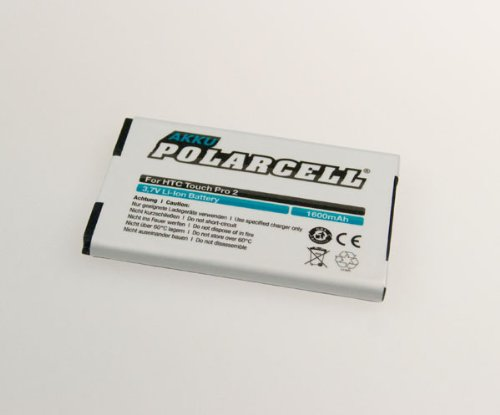 NFE² Edition Polarcell Lithium-Ionen Akku - 1600mAh - für PDA HTC T7373, Touch Pro 2, Snap und T-Mobile MDA Vario 5