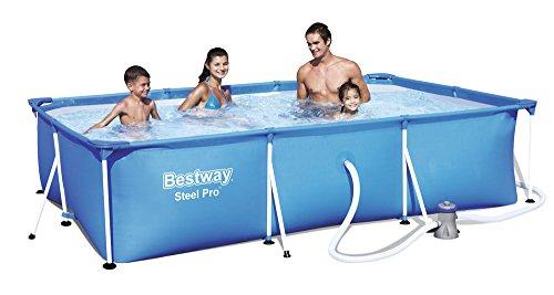 Bestway 56411 Stahlrahmenpool 300x201x66cm Filterpumpe GS Pool Set #5315