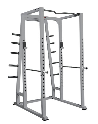 York Power Rack mit verstellbarer Spektiv Ruten (3 Boxen)