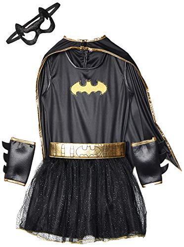 Kostüm Batgirls - Batgirl - Super Heroes - Kinder-Kostüm Größe M (5-7 Jahre 132cm)