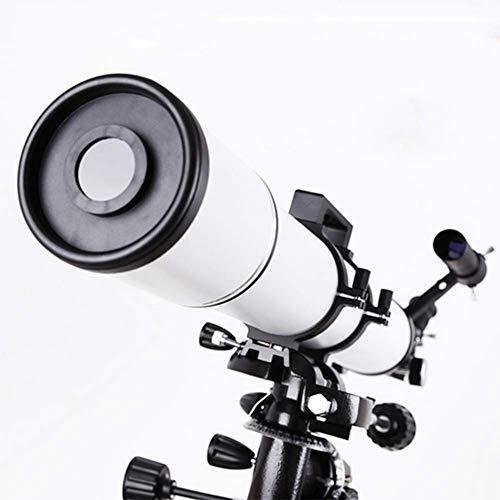 WYJLiang HD Large Aperture 90mm Refractor Telescopio