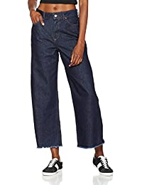 ONLY Onlbianca Hw Culotte Dnm Jeans Rea, Mujer