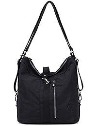 33d604dee Outreo Bolso Bandolera Mujer Bolsos de Moda Impermeable Mochilas Bolsas de  Viaje Sport Messenger Bag Bolsos Baratos Mano para Escolares Tablet…