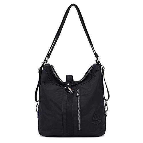 Designer Handtasche Nylon (Outreo Schultertasche Wasserdichte Messenger Bag Umhängetasche Damen Handtasche Designer Kuriertasche Rucksäcke Strandtasche Sporttasche für Mädchen Taschen Reisetasche Nylon)